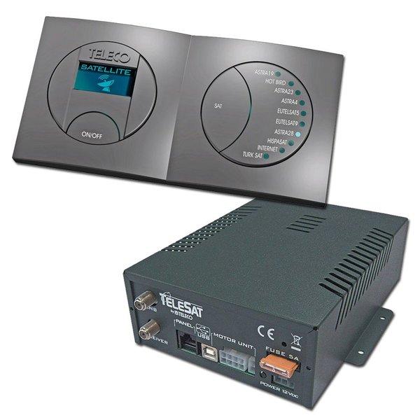 Teleco Blackbox/Upgrade Set Telesat + Panel 10 Sat DVB-S2