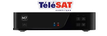 M7 TELESAT EVO MZ101 HD + Viaccess Orca TV Telesat Smartcard