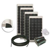 NDS KP100SSCM Zonnepaneel 100W SlimlineSET+Suncontrol MPPT