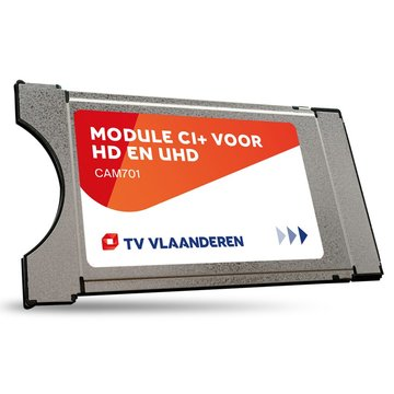 M7 TVV CAM-701 CI+ Module Viac.Orca + Smartcard TV Vlaanderen
