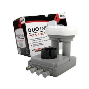 M7 CDS / Inverto DUO Quad lnb 19.2+23.5 60 cm