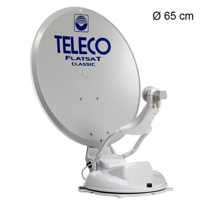 Teleco Flatsat Classic SMART 65cm BX, 10 Sat Op=Op