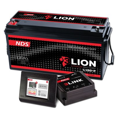 NDS 3LIONSYSTEM Lithium Accu 12V-150Ah + 3LINK 150A