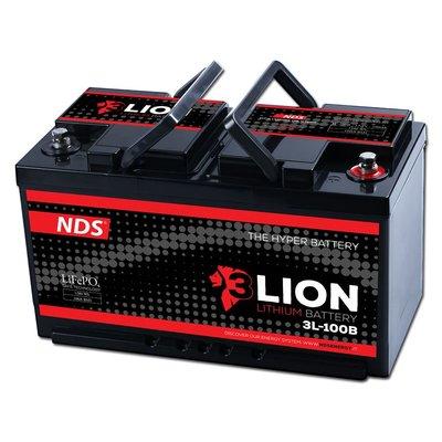 NDS 3LION Lithium Accu 12V-100Ah 3L-100 Ducato