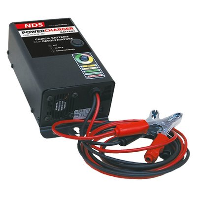 NDS POWERCHARGER BATTERY Accusnellader 12V-20A