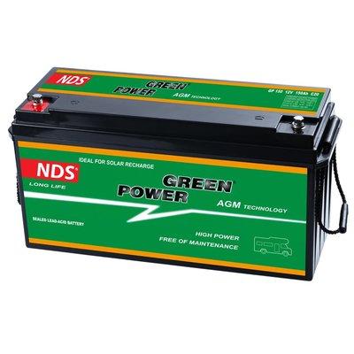 NDS GP 150 Service Accu AGM 12V 150Ah 485 * 172 * 240h