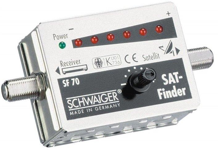 Schwaiger SF70/221 HQ Satfinder LED