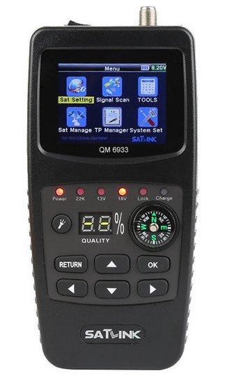 QM 6933 HD satellietmeter met Satelliet Herkenning