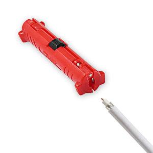 stripper voor coax SAT-kabel