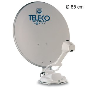 Teleco Flatsat Skew Easy SMART Diseqc GPS 85cm TWIN BX