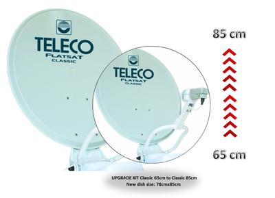 Teleco Upgrade Set CLASSIC 65cm naar 85cm