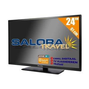 """Salora 24"""" Travel TV CI DVB-S2/C/T2 12/230V"""