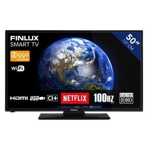 """Finlux FL5022SMART 50"""" DLED FHD DVB-T2/C CI+ Ziggo Cert."""