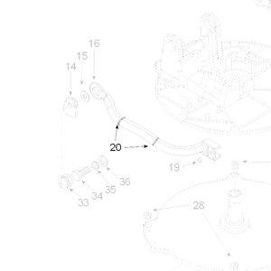 Teleco 01274 spare part Klembandje 10x2.5 CL.65/85