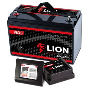 NDS 3LIONSYSTEM Lithium Accu 12V-100Ah + 3LINK 150A