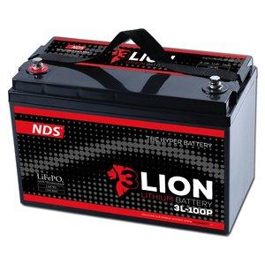 NDS 3LION Lithium Accu 12V-100Ah 3L-100P