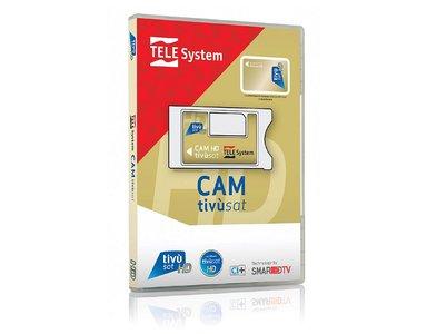 Telesystem CI+ Smarcam + Smartcard Gold HD version 4K