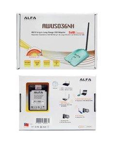 Alfa Network AWUS036NH 802.11bgn Long Range WLAN USB Antenne