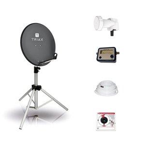 BCK TravelSat TS65A/S Recreatieset Single LNB