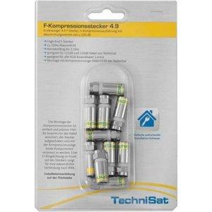 TechniSat Digital Compression F-Connector 10 Pack