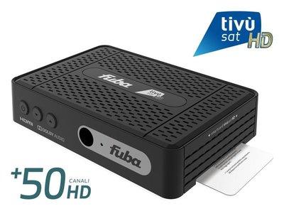FUBA ODE718 incl. tivusat-smartcard
