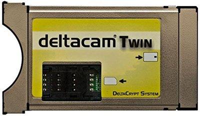 Deltacam Twin Deltacrypt CI Cam Modul 2.0