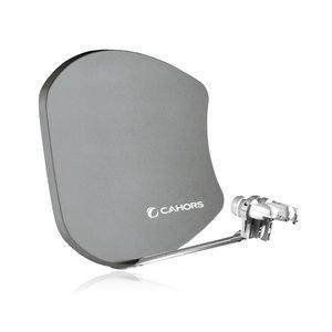 Cahors 0140468 Bi-Satellite Multifocus G2 75x64cm antraciet
