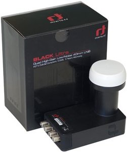 Inverto IDLB-QUDL40-Ultra Black Quad 40mm Lnb