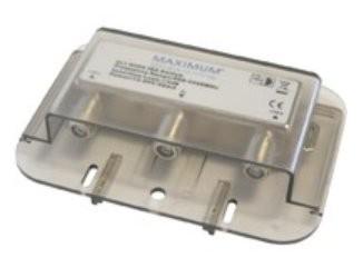 Maximum 1214 2/1 High Isolation DiSEqC 1.0 switch