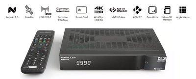 Formuler S Turbo 4K UHD DVB-S2 + IPTV OTT Mediareceiver,SCCI