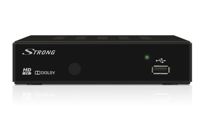 Strong SRT 8114 DVB-T HD USB PVR, zonder display