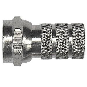 F stekker voor kabels met 5,2 mm doorsnede ( 5,2 mm, 2 ringen)