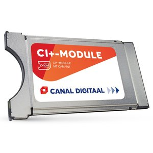 CANAL DIGITAAL CAM-701 CI+ MODULE MET GEINTEGREERDE KAART