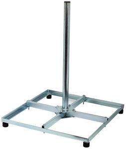 Antenne tegelvoet voor het monteren van antennes of schotel antennes
