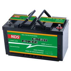 NDS GREENPOWER Service Accu AGM 12V 100Ah Ducato