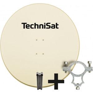 TechniSat SATMAN 850 AZ/EL met LNB Houder 40mm  beige