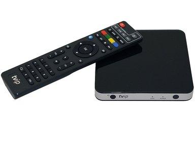 TVIP S-Box v.605 IPTV/OTT 4K UHD Media Player met WLAN
