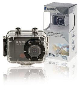 Vergelijk Full HD Action Cam 1080p Waterdichte Behuizing Zwart