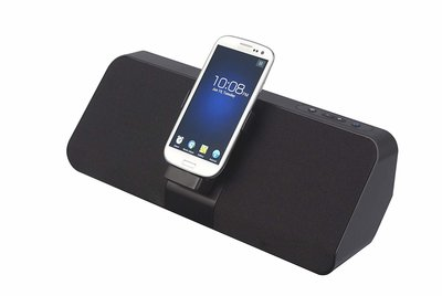 Avox Spock-dockingstation voor Samsung Galaxy S2 / S3 / Note / Note2 met luidspreker- en oplaadfunctie