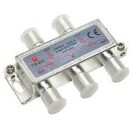 Triax SCS 4 splitter 4-voudig, SAT 2.4GHz, DC pass