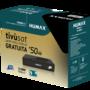 Humax TIVUMAX-HD3800S2 + Tivusat kaart